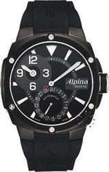 Alpina Adventure Manufacture Regulator Black Rubber Strap AL950LBG4FBAE6