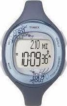 Timex Global Trainer Blue Rubber Strap T5K484