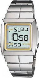 Casio Collection Digital Stainless Steel Bracelet Ladies - SHN400D9V