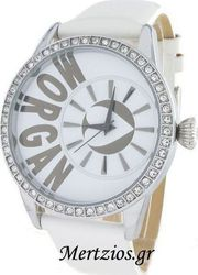 Morgan Ladies De Toi White Leather Strap M1103W