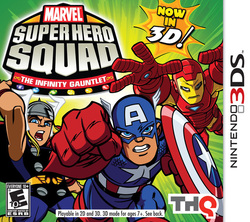 Marvel Super Hero Squad: Infinity Gauntlet 3DS