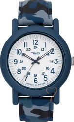 Timex Camper Military Leather Strap T2N674