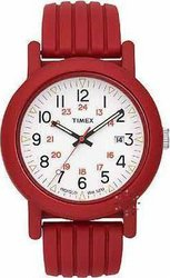 Timex Originals Camper Red Rubber Strap T2N715