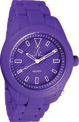 Toy Watch Velvety Purple Rubber Strap VV11VL