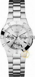 Guess Multi Dial Silver Stainless Steel W11610L1