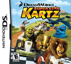DreamWorks Super Star Kartz DS