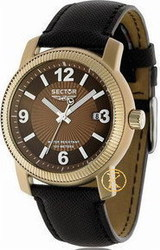 Sector 500 Mens Watch Brown Leather Strap R3251139055