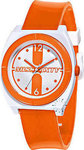 Miss Sixty Vintage Orange Rubber Strap - STU010