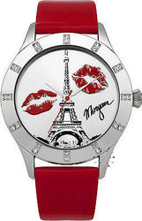 Morgan de toi Crystals Paris Red Leather M1110R