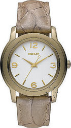 DKNY Cream Python Leather Strap NY8333