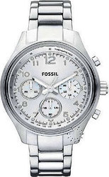 Fossil Chrono Total Silver Stainless Steel Bracelet CH2769