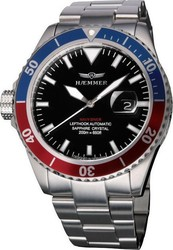 Haemmer Mens Orion Navy Diver Lefthook Automatic ND-03