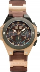 Chase Durer Conquest Rose Gold Brown Rubber Chrono 778.8NN