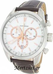 Candino Swiss Made Brown Chronograph Watch C4408/1