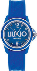 Liu Jo Joy Blue Dial and Rubber Strap TLJ096