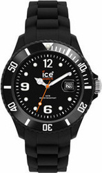 Ice-Watch Sili Collection Black Rubber Strap - SIBKUS09