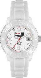 Ice-Watch FMIF Classic Unisex White Rubber Strap - FM.SI.WE.U.S.11