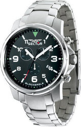 Sector Black Eagle Stainless Steel Chrono R3273689001