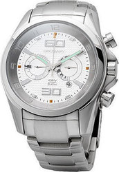 Brosway Chrono White Dial Stainless Steel Bracelet MG07