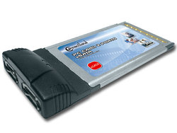 Connectland PCMCIA Card 2x e-SATA