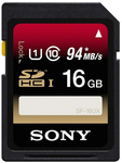 Sony SF16UX Series SDHC 16GB U1