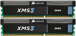 Corsair 2x8GB XMS3 DIMM kit CMX16GX3M2A1333C9
