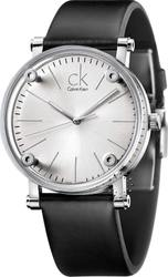Calvin Klein Cogent Black Leather Strap K3B211C6