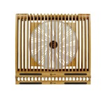Macally Ecofan XL Bamboo Cooling Stand