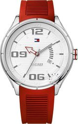 Tommy Hilfiger Sport Red Rubber Strap 1790804