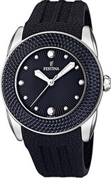 Festina Black Strap Date Watch F16591/5