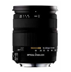 Sigma 18-200mm F3.5-6.3 DC OS (Canon)