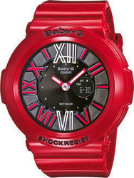 Casio Baby-G Red Rubber Strap BGA-160-4BER
