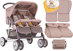 Lorelli Bertoni Twin 10020071803 Beige & Yellow Happy Family