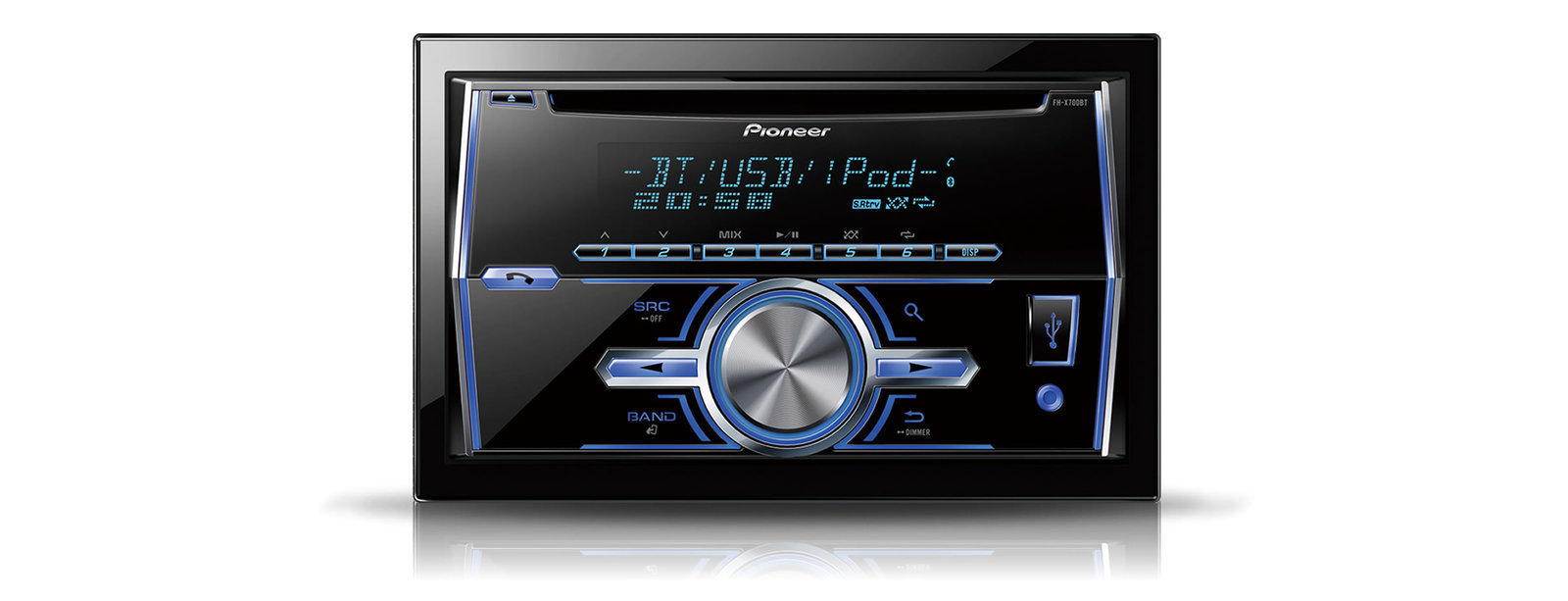 Pioneer Fh-x700bt
