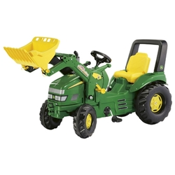 Rolly Toys John Deere Kids X-Trac Toy Pedal Tractor + Front Loader
