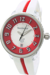 Tendence Tendece Pink and White Polycarbonate Watch 02093012