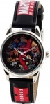 OEM Marvel Heroes Black Leather Strap 99305