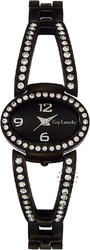 Guy Laroche Crystal Black Stainless Steel Bracelet LN203ZNN