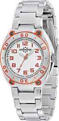 Chronostar Woman White Dial - Stainless Steel Bracelet