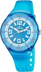 Calypso Fashion Blue Plastic Strap 5588-5