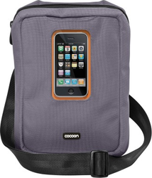 Cocoon Gramercy Messenger Sling for Apple iPad Grey