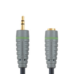 Bandridge Headphone Cable 3.5mm male - 3.5mm female 3m (BAL3603)