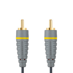 Bandridge Composite Video Cable RCA male - RCA male 1m (BVL5001)