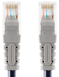 Bandridge U/UTP Cat.5e Cable 10m Γκρί (BCL7010)