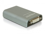 DeLock USB-A 2.0 male - DVI/VGA/HDMI female (61787)