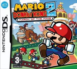 Mario Vs Donkey Kong 2 March Of The Minis DS