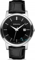 Rodania Nelson Black Leather Strap