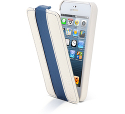 Canyon Flip Cover White Blue (iPhone 5/5s/SE)