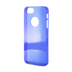 Puro Crystal Cover Blue (iPhone 5/5s/SE)