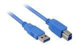 Sharkoon USB 3.0 Cable USB-A male - USB-B male 1m (4044951010837)